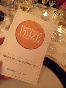The Science & SciLifeLab Prize for Young Scientists -