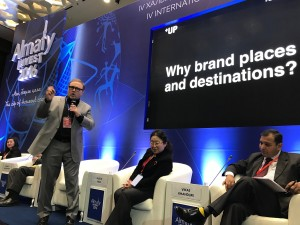 Julian Stubbs keynote speaker on place marketing at Almaty Invest 2016