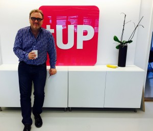 Julian Stubbs founder and CEO of UP THERE, EVERYWHERE