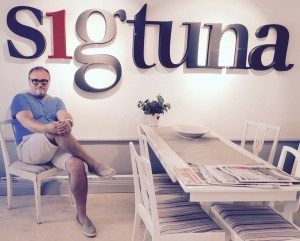 Julian Stubbs place marketing Sigtuna