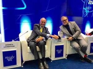 Ken Livingstone, Julian Stubbs, Almaty Invest